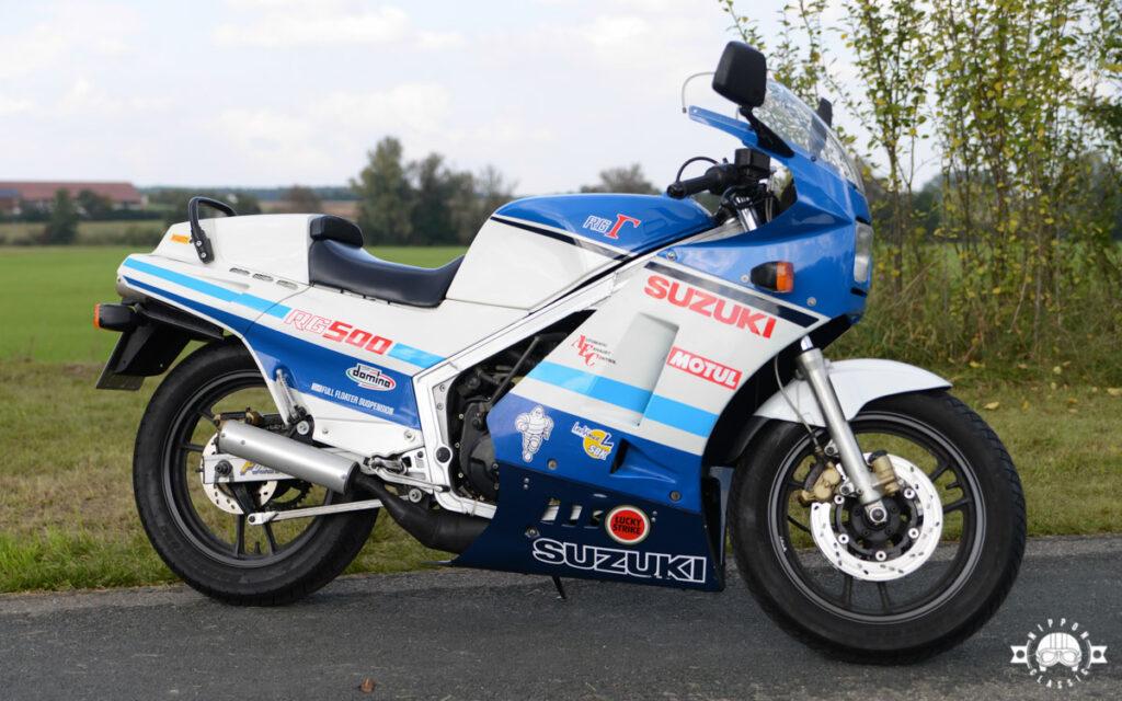 Die Suzuki RG 500 Gamma wurde von 1984 bis 1989 gebaut
