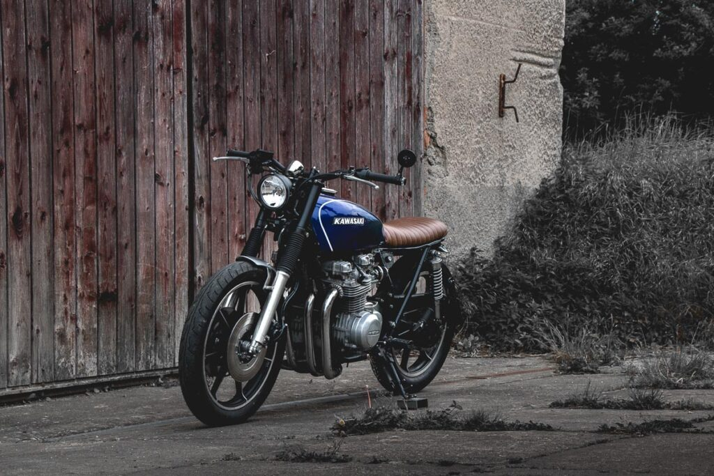 Die Custom Kawasaki Z 650 Brat Bike von Kaspeed Moto
