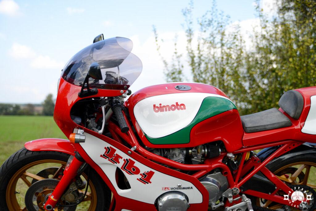 Bimota KB1: japanische Motorenbaukunst trifft auf gut liegende italienische Fahrwerke