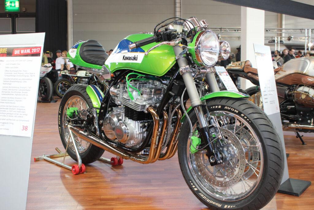 Des Meisters Werk: Kawasaki GPZ 810 Uni Trak