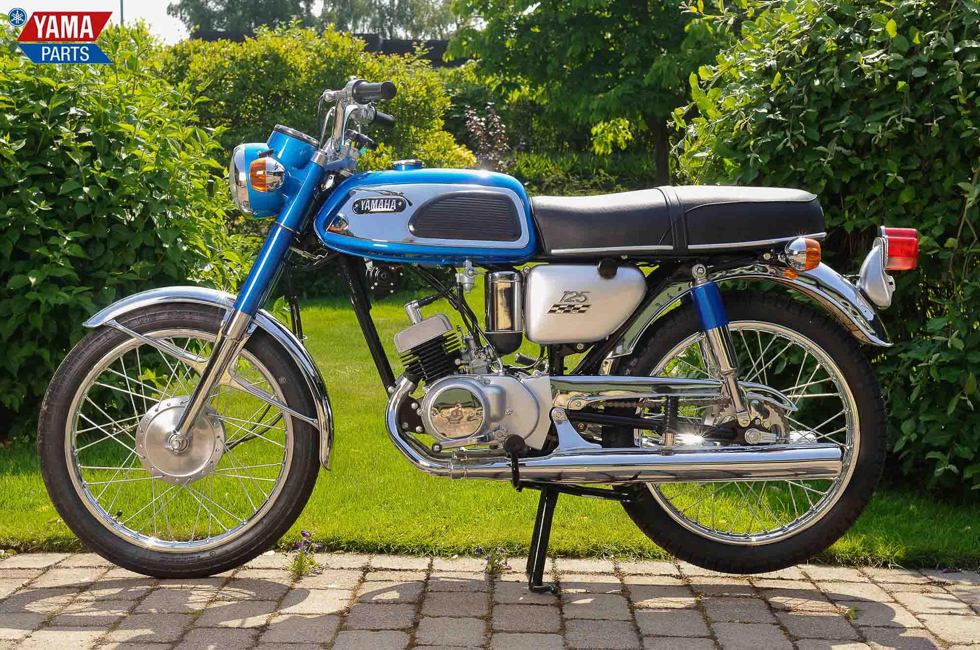 Die Yamaha YAS1 kam 1969 und wurde sofort ein Kassenschlager