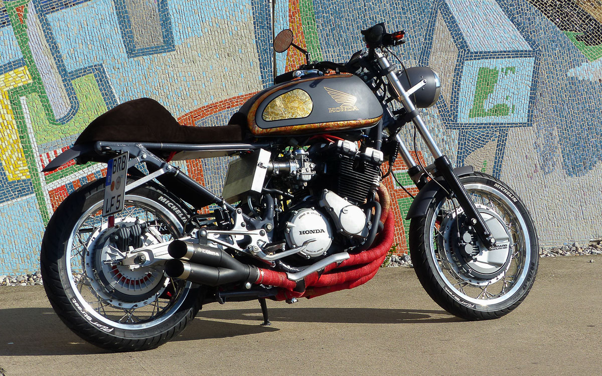 honda cafe racer nippon. Black Bedroom Furniture Sets. Home Design Ideas