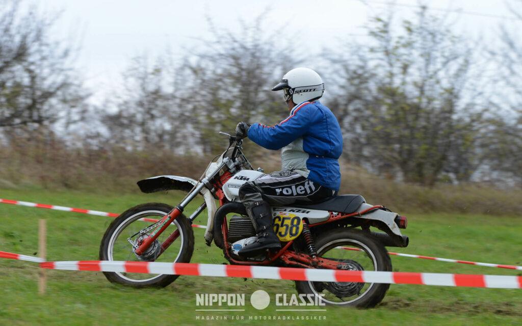 Mit der Startnummer 658: Michael Schießlbauer auf KTM