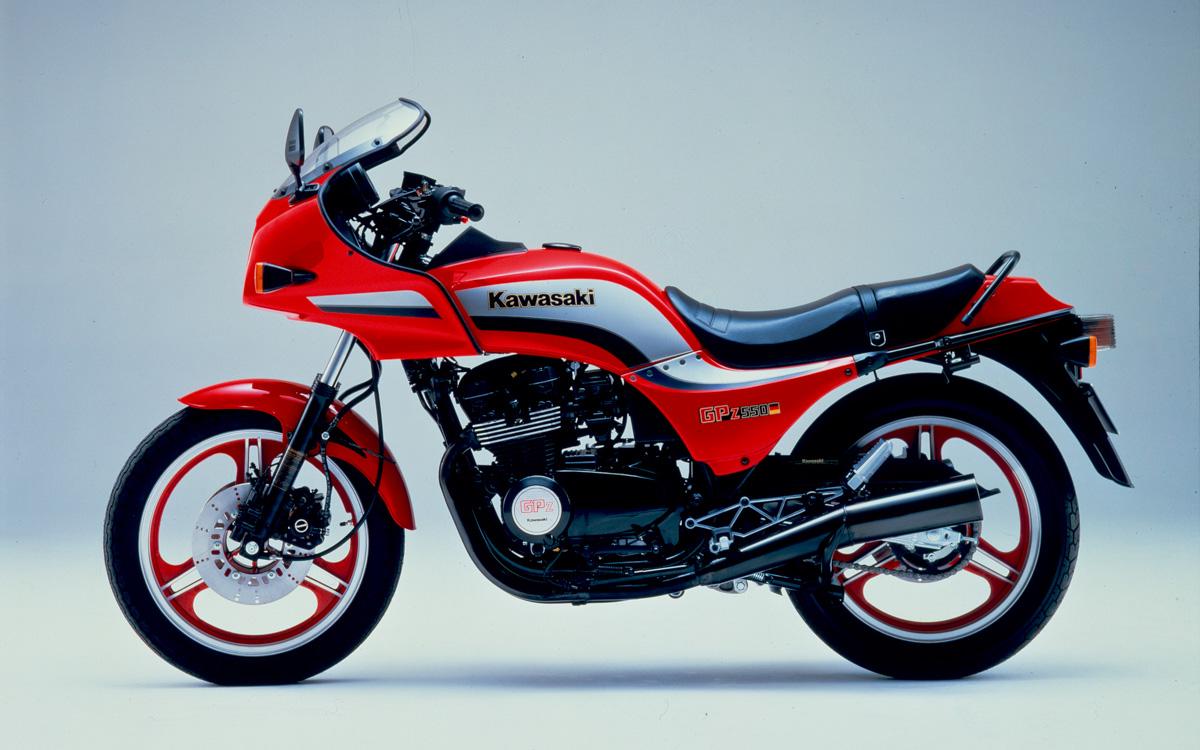 Kawasaki GPZ 550 von 1984