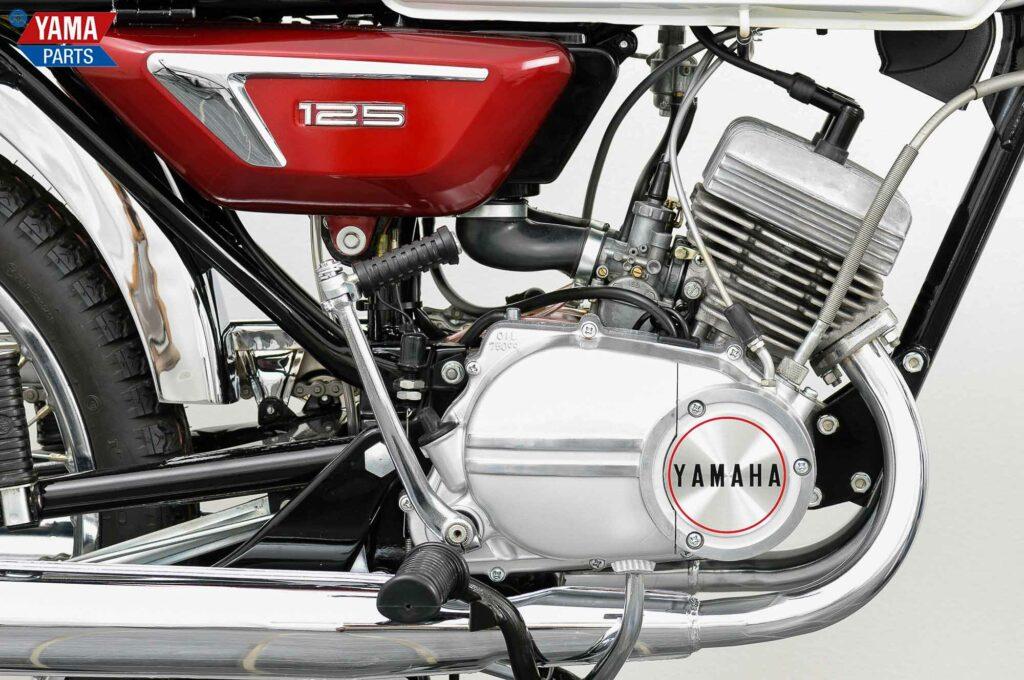 Yamaha-Motor mit Membransteuerung