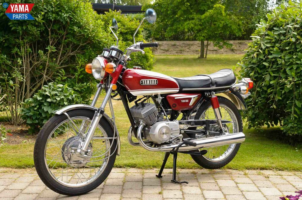 Die Yamaha AS3 nahm die Formsprache der RD 125 vorweg