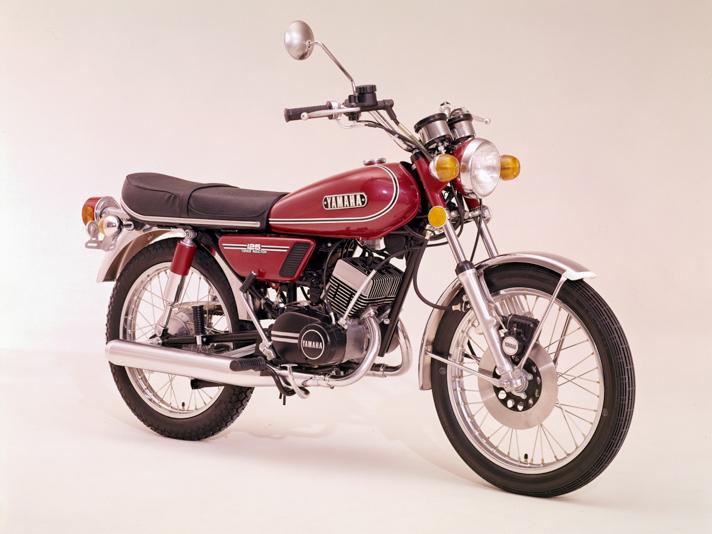 Ab 1973 vereinheitlichte Yamaha die Modellbezeichnung in RD 125