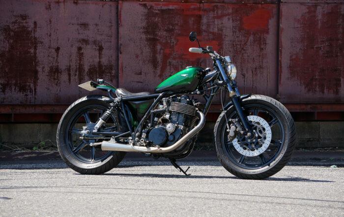 "Yamaha SR 400 Bobber ""One-Shot"""