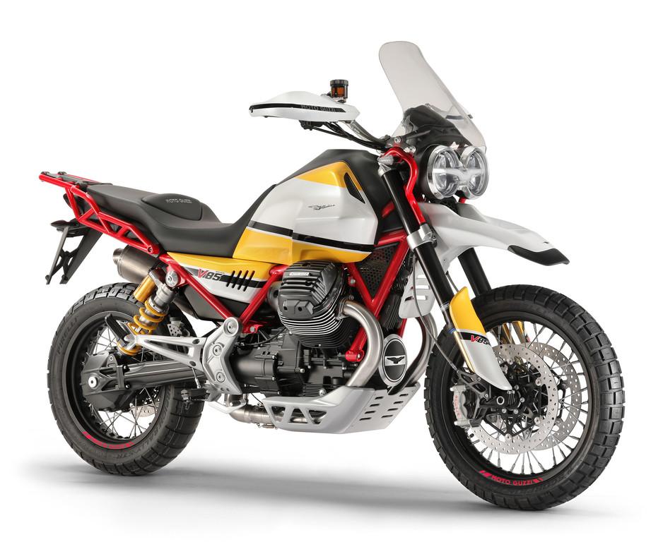Schnittig: Neue Moto Guzzi V85TT