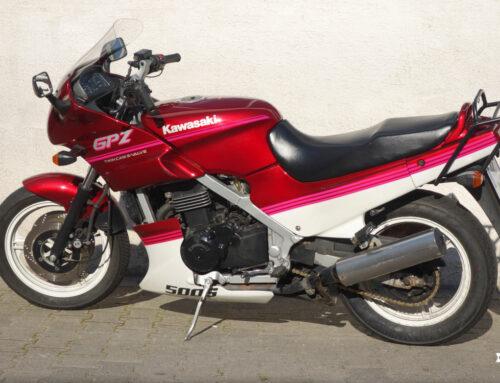 Kawasaki GPZ 500 S – Alltagstauglicher Sporttourer