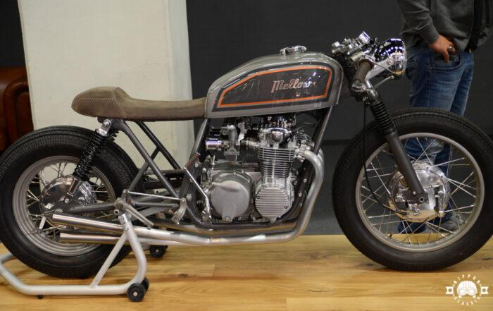Honda CB 550 Cafe Racer von Mellow Motorcycles