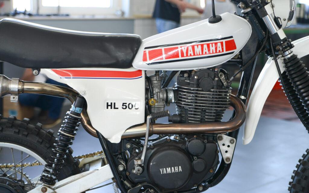 Die HL 500 leistete 38 PS bei 7.000 U/min
