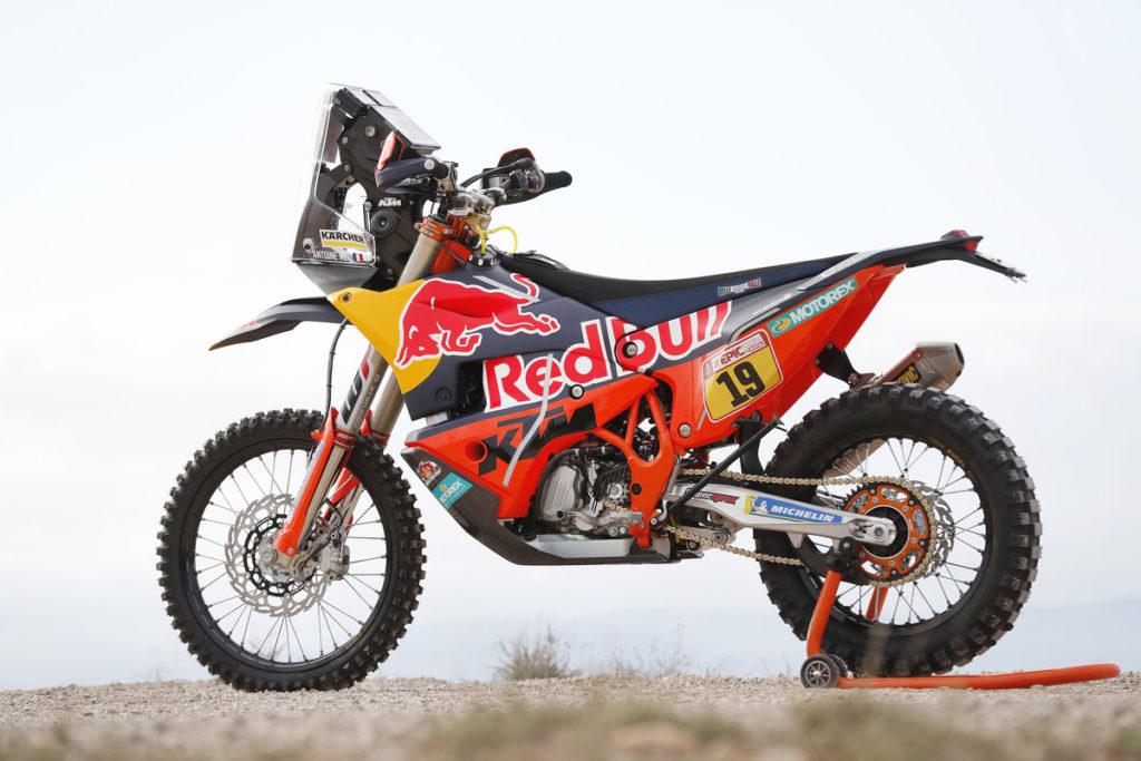 Dakar-Motorrad: KTM 450 Rallye