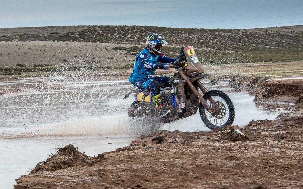 Adrien Van Beveren übernahm auf der 7. Etappe der Dakar 2018 die Gesamtführung