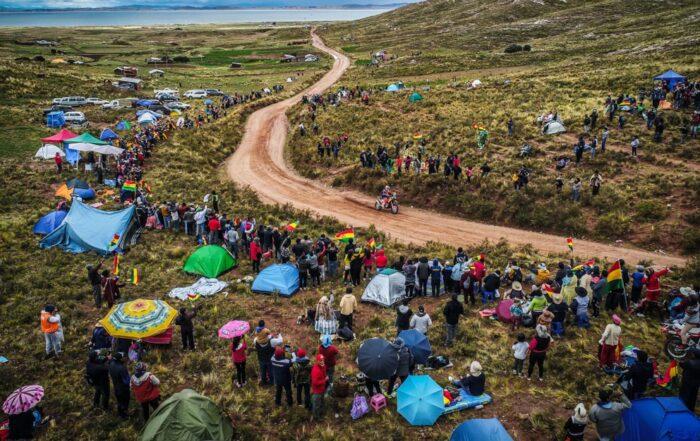 In Bolivien änderten sich die Bedingungen dramatisch - Hier Toby Price