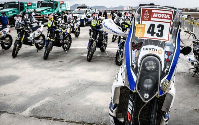 Die Maschine von KTM-Fahrer David Pabiska