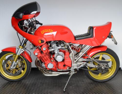 """EGLI-CBX Red Baron – eine """"Über-Honda"""" vom Rahmen-Spezialisten"""