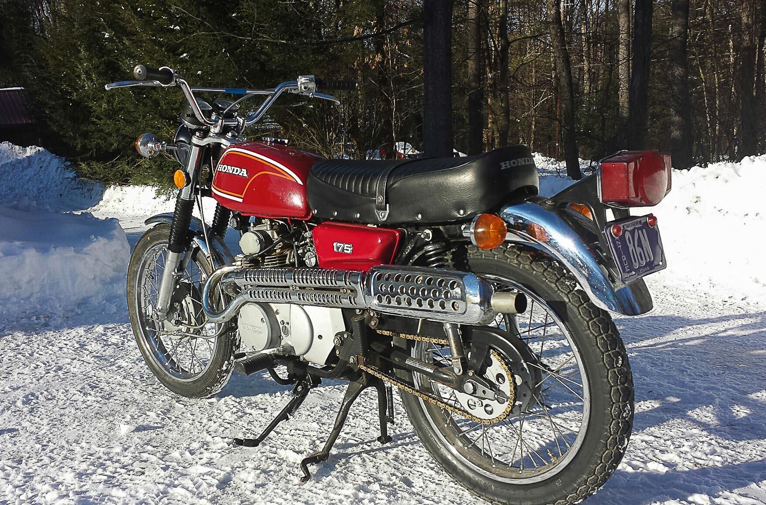 Honda cl 175 k 1968 1973 scrambler mit leistungsschub for Honda classic 2018