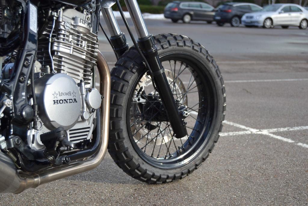 Honda Dominator Scrambler