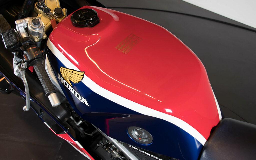 25 Liter Sprit fasste die Honda VF 1000R