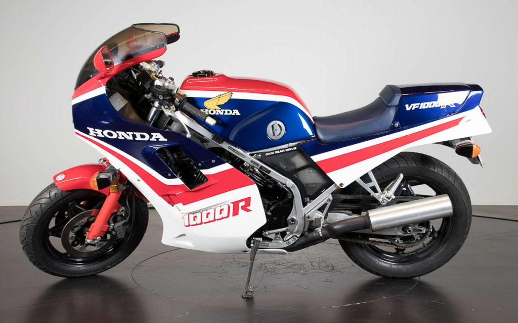 Volles Farbspektrum: Honda VF 1000R