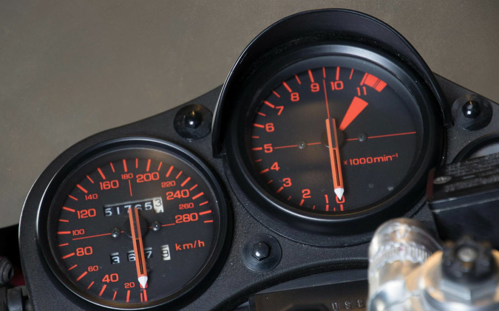 Die VF 1000R erreichte 249 km/h Top-Speed
