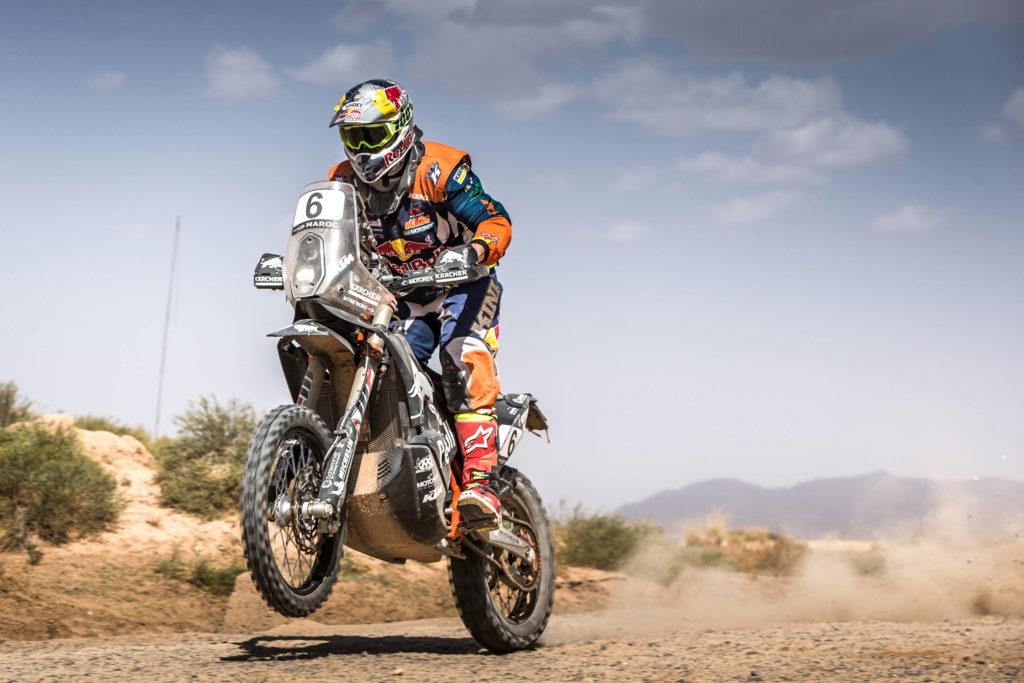 Matthias Walkner kam bei der Dakar 2017 auf Platz 2