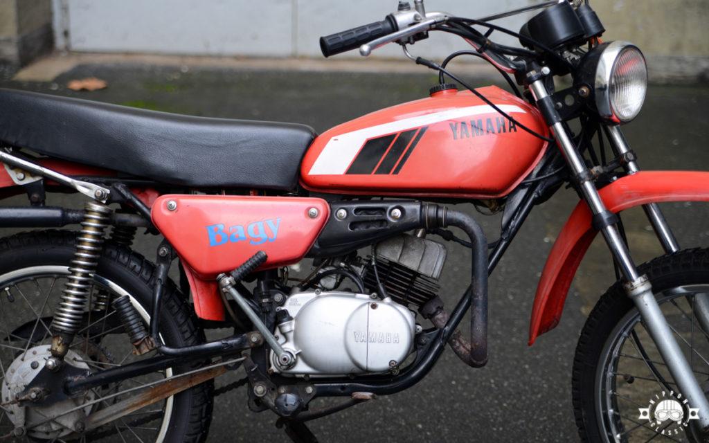 Yamaha DT50 M in rot von 1979