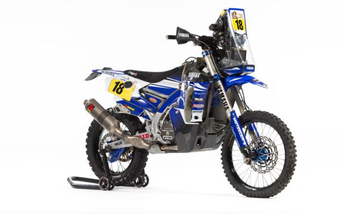 Dakar-Motorrad Yamaha WR450F Rallye