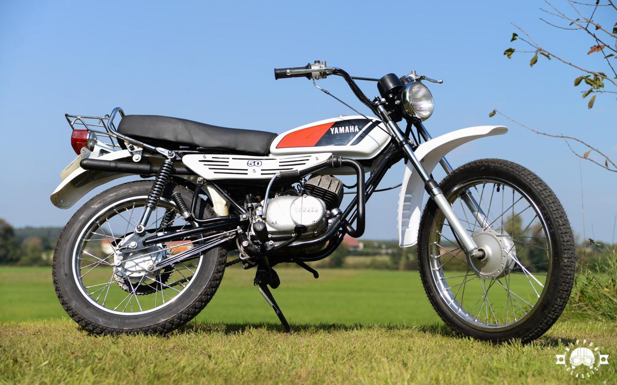 Yamaha DT 50 M von 1978
