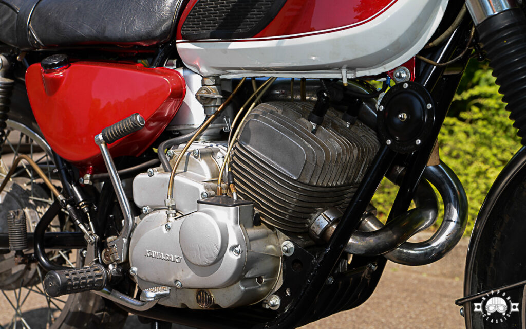 Die Drehschieberkonstruktion des A1-Motors kam aus dem Rennsport