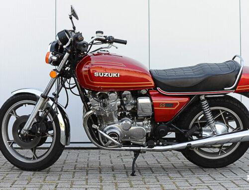 Suzuki GS 850 G – 40. Geburtstag des Kardan-Dickschiffs