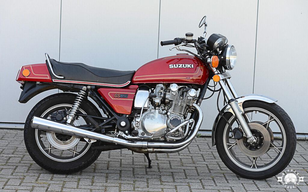 Die Suzuki GS 850 schloss vor 40 Jahren die Lücke zwischen 750 und 1000 ccm Hubraum