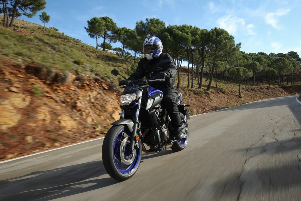 Neuauflage der Yamaha MT-07