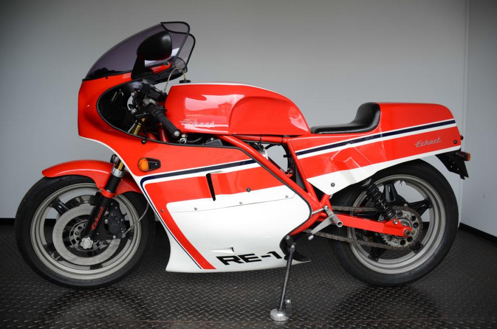 Einzigartig wie selten: Eckert Honda RE1 von 1983