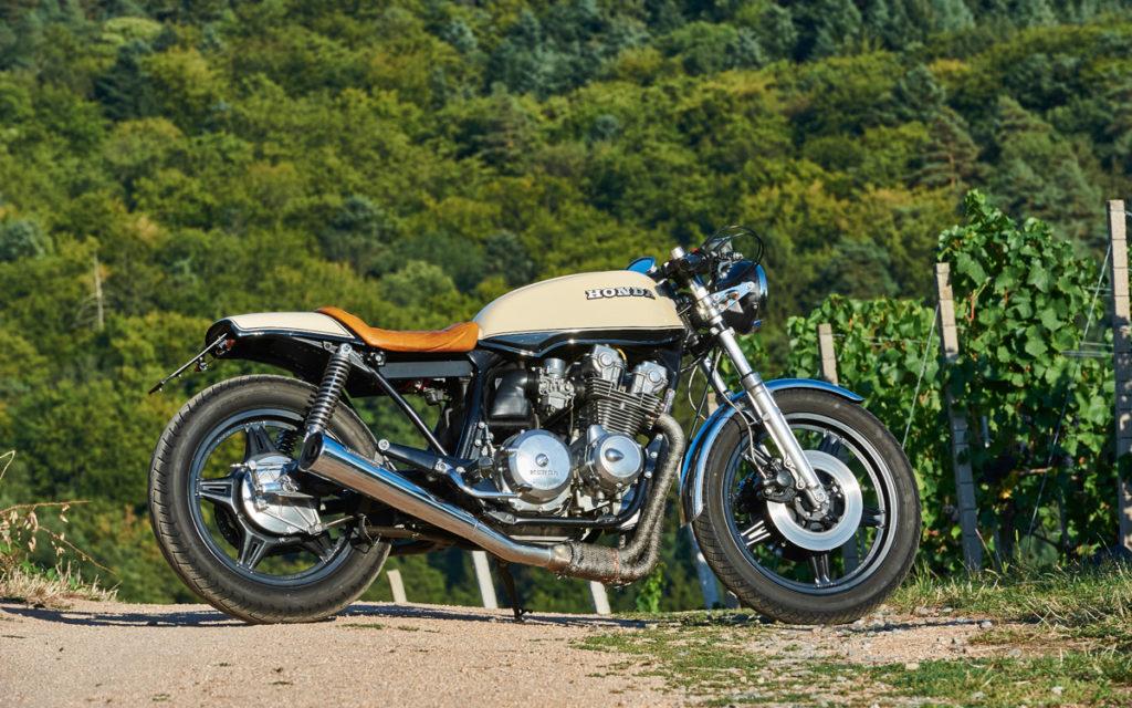 Der Honda CB 750 KZ Café Racer war der erste Umbau von Michael Dieterle