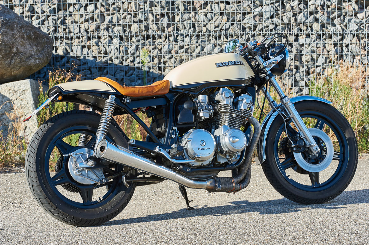 honda cb 750 kz caf racer von michael dieterle. Black Bedroom Furniture Sets. Home Design Ideas