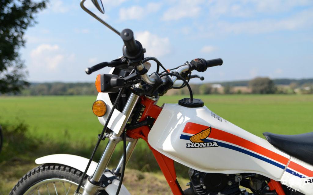 Die TLR erlaubt einen Lenkeinschlag von mehr als 180 Grad