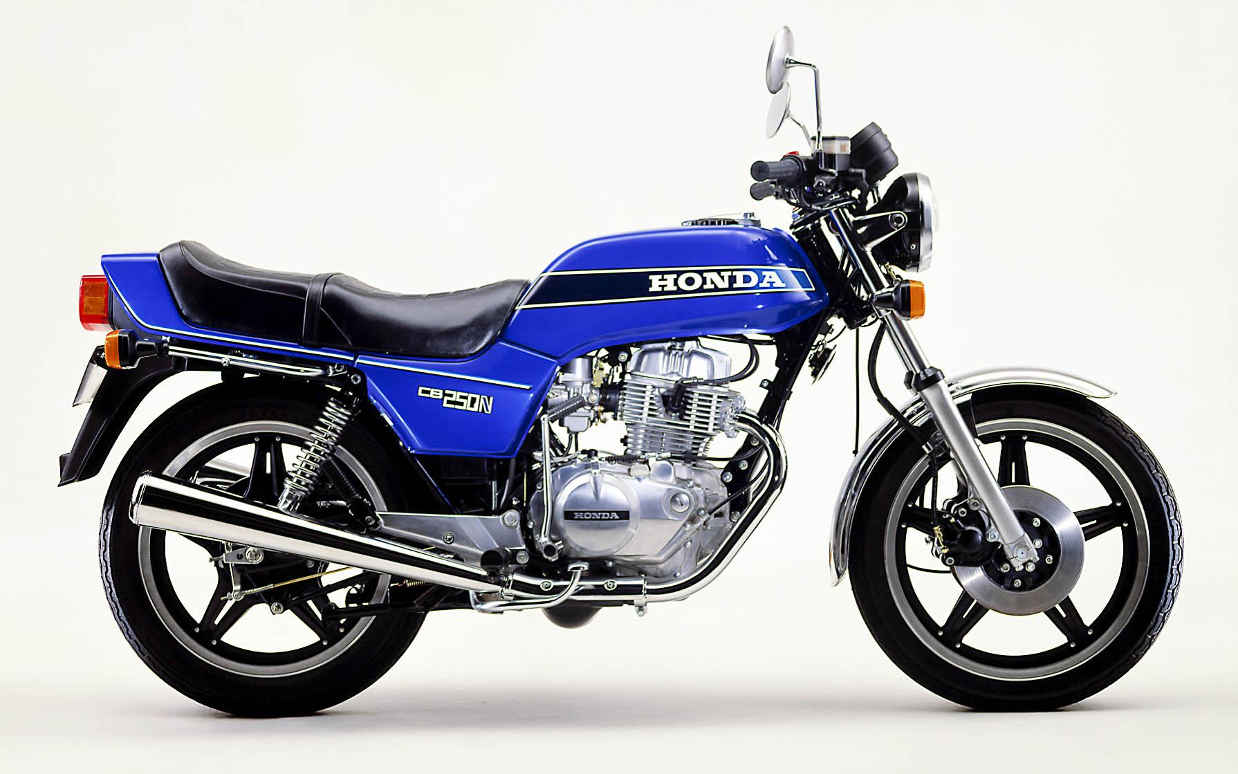 Honda CB 250 N aus dem Jahr 1979