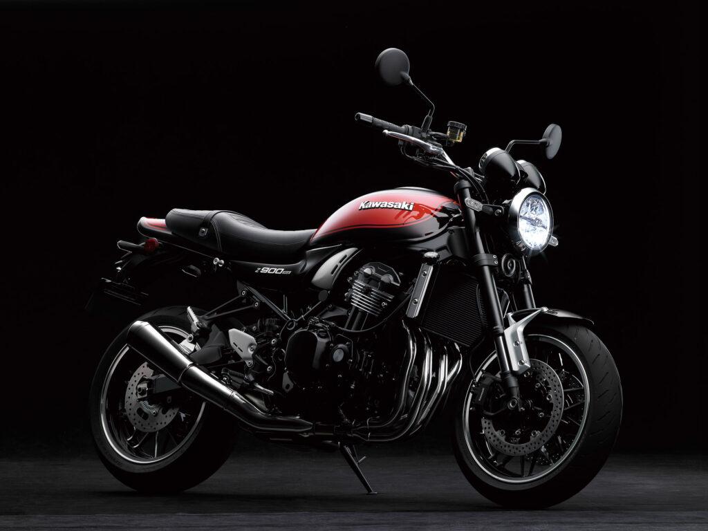 Die Kawasaki Z900 RS wusste auch zu gefallen
