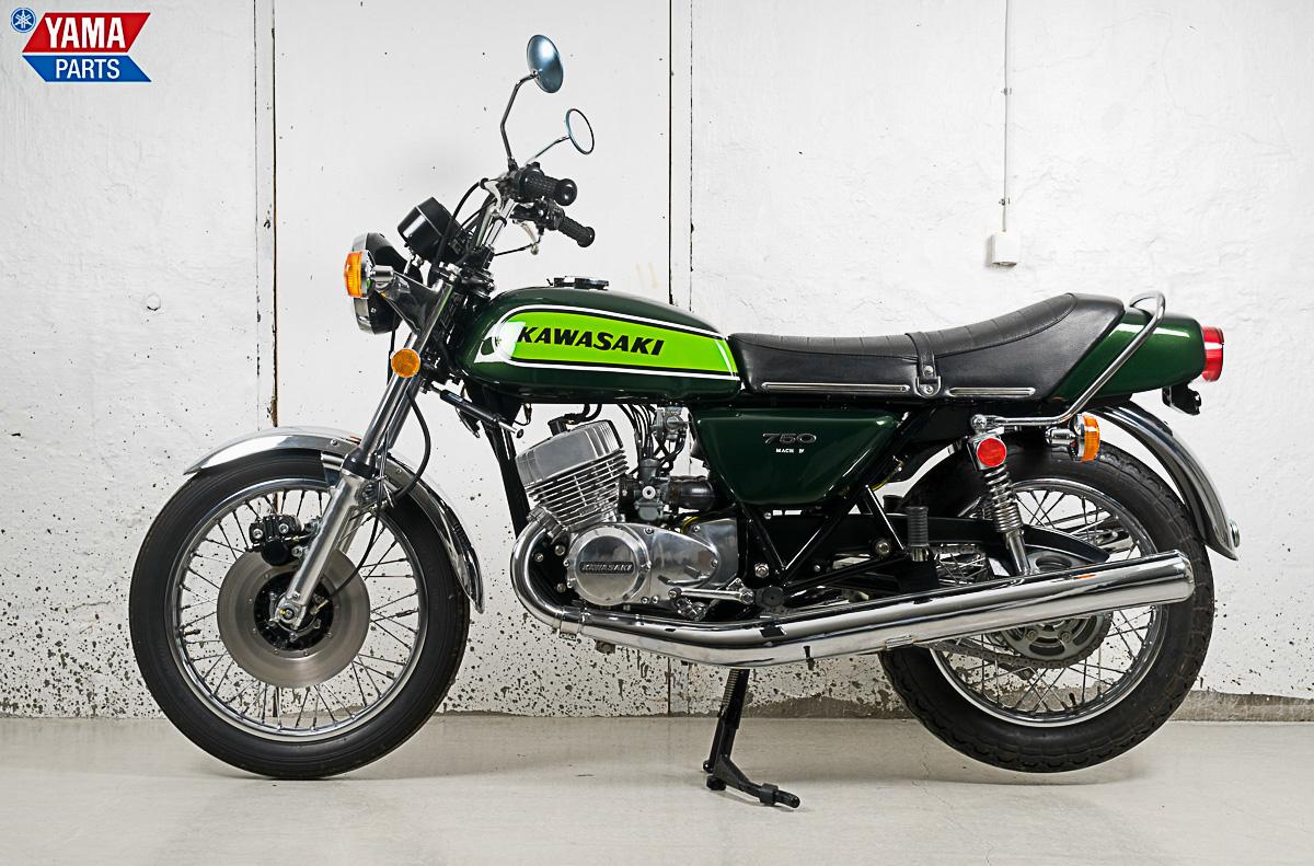 Kawasaki 750 H2 Mach IV von 1974
