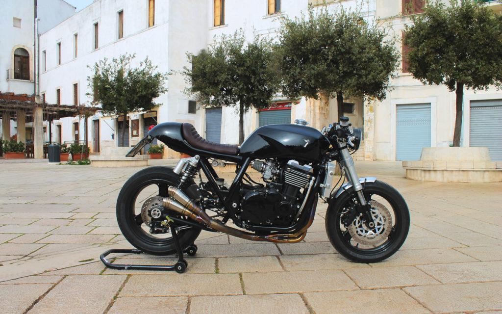 """Die ZRX 1100 """"Gunpowder"""" stammt von Seven Motors in der Nähe von Turin"""