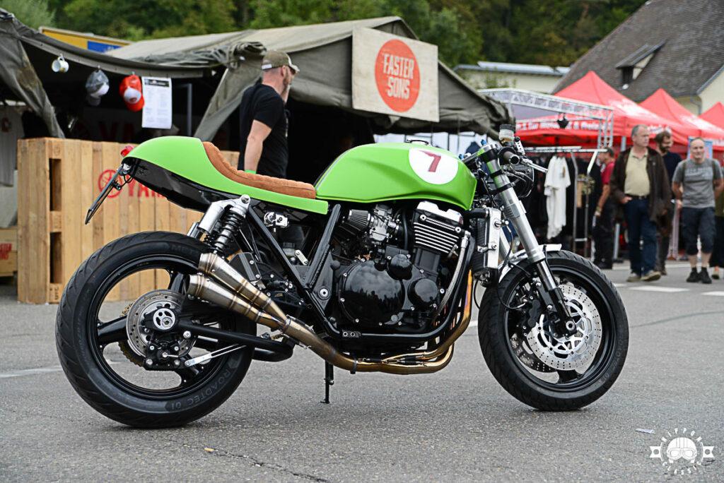 Der erste Entwurf der ZRX 1100 war noch grün