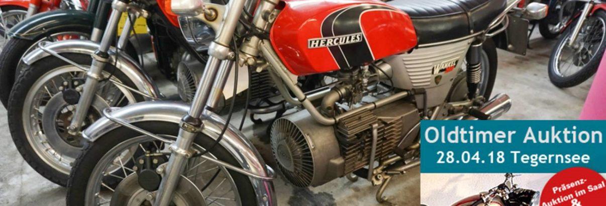 Motorrad-Auktion Tegernsee