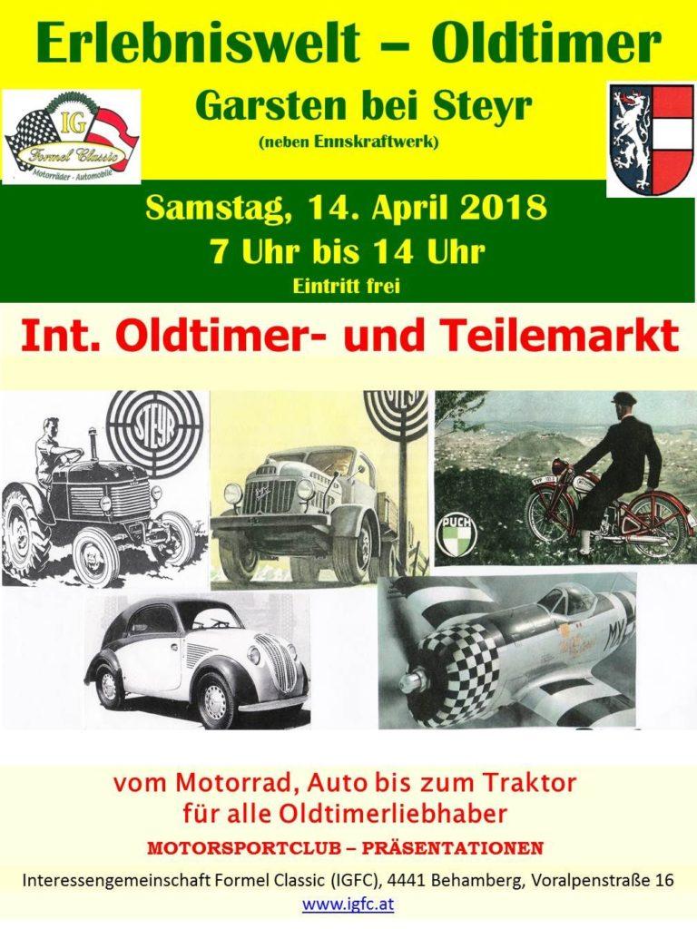 Oldtimermarkt April 2018