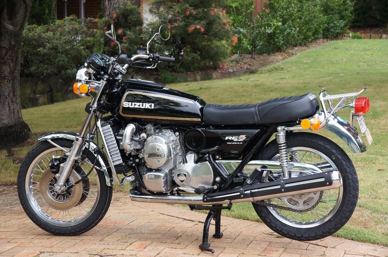 Suzuki Re Rotary Motorcycle
