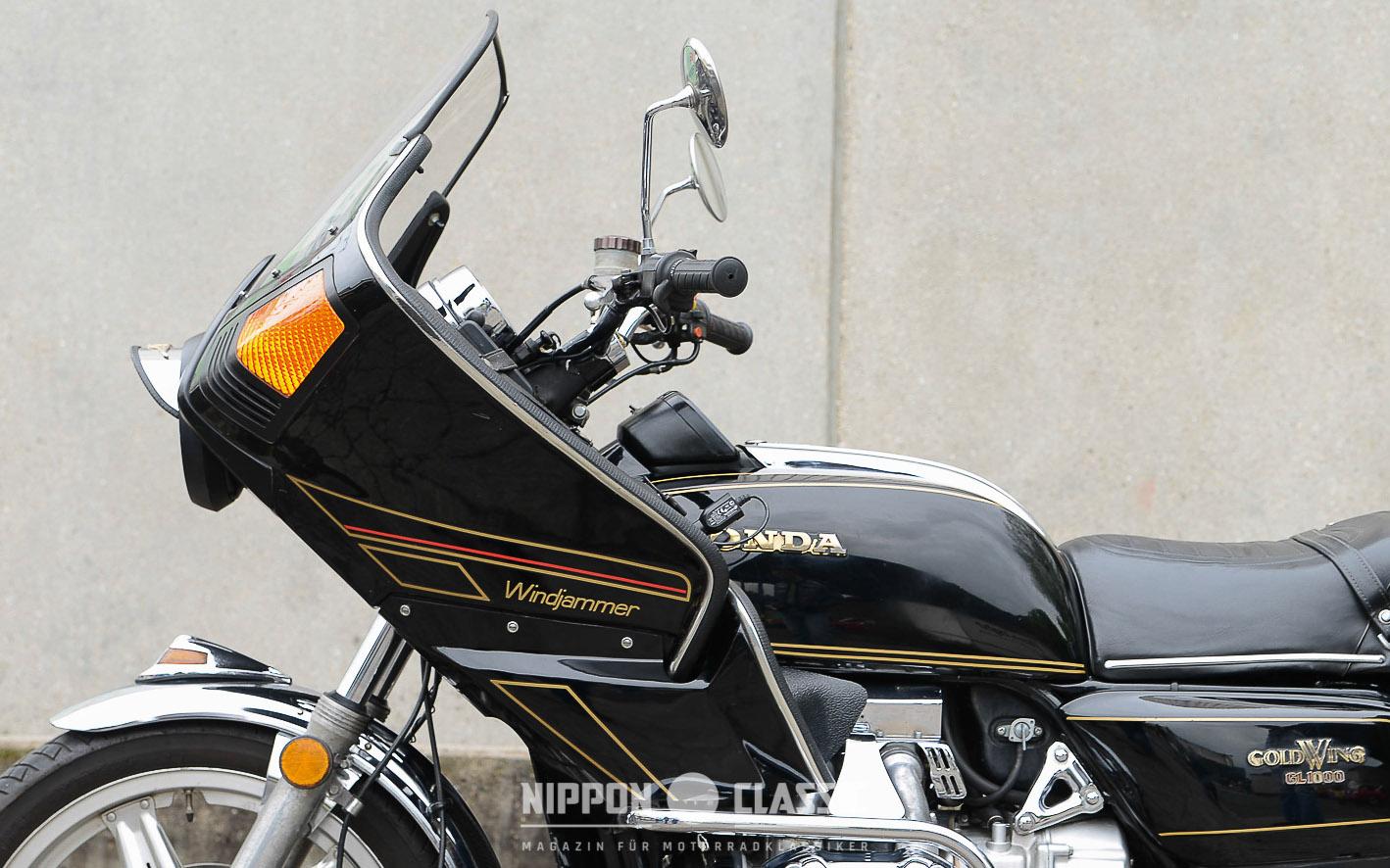 Universelle Windjammer-Verkleidung von Craig Vetter an einer Honda GL 1000