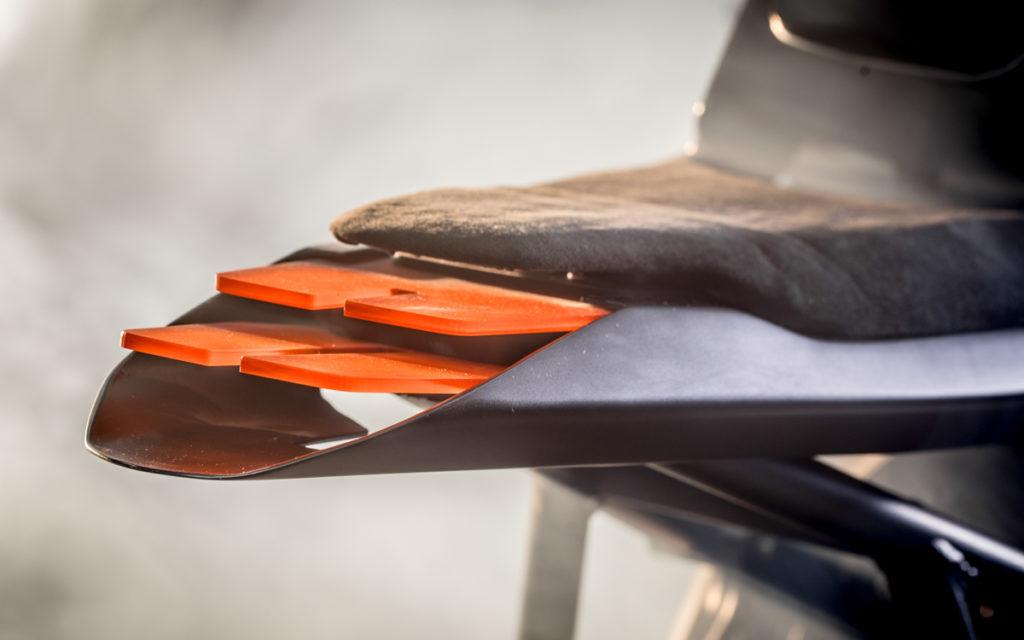 Auto Fabrica steht für einzigartige Detaillösungen wie hier beim Rücklicht