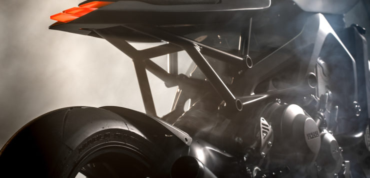 Yamaha XSR 900 von Auto Fabrica
