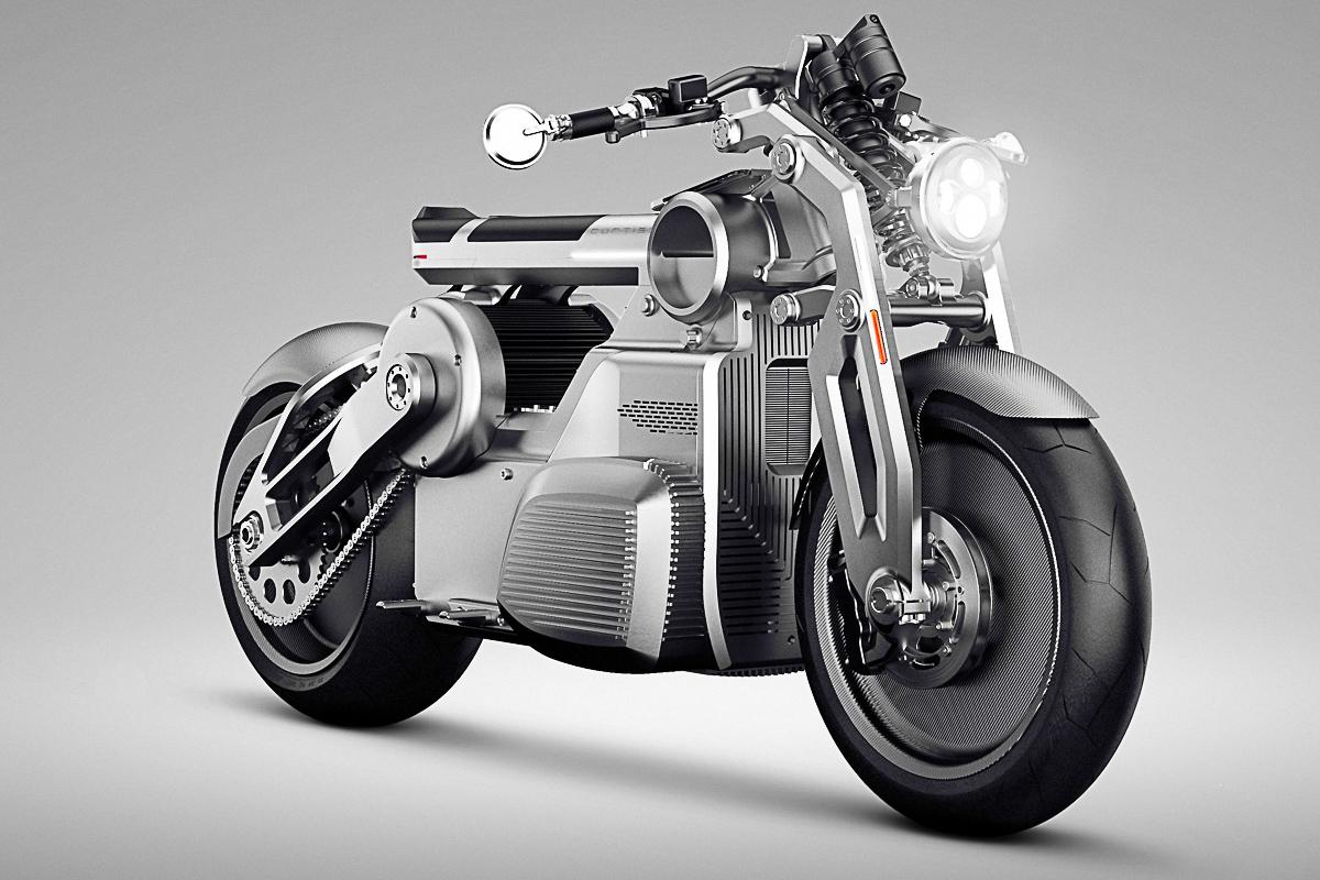 Starkes Stück: Curtiss Zeus Concept-Bike